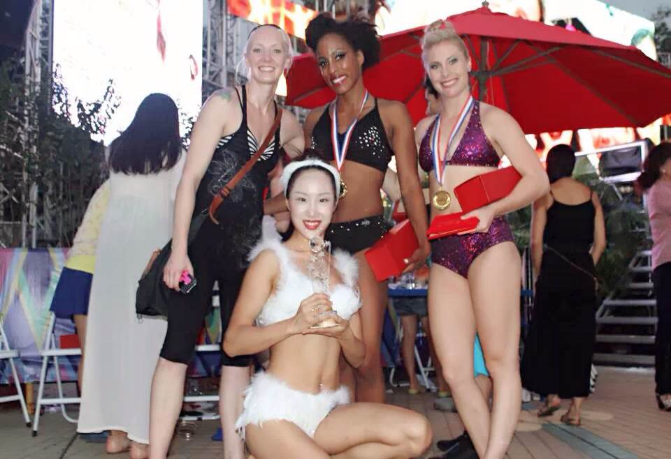 钢管舞世锦赛部落风格钢管舞,上海雅婷S-Pole Dance